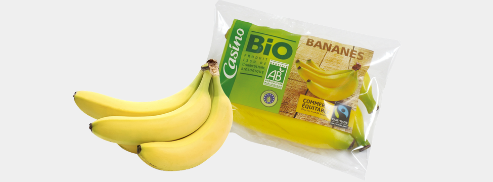 Casino banane bio microperforation